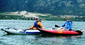Father's Day Kayaking Trip