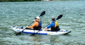 Lightweight Tandem Inflatable Kayaks