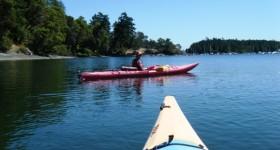 Kayaking Gabriola Island