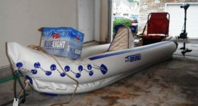 Custom Additions to the Sea Eagle 370 Kayak