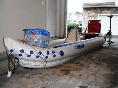 Wondrous Custom Additions To The Sea Eagle 370 Kayak Beutiful Home Inspiration Xortanetmahrainfo