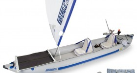 New Sea Eagle Green Machine Kayak Package