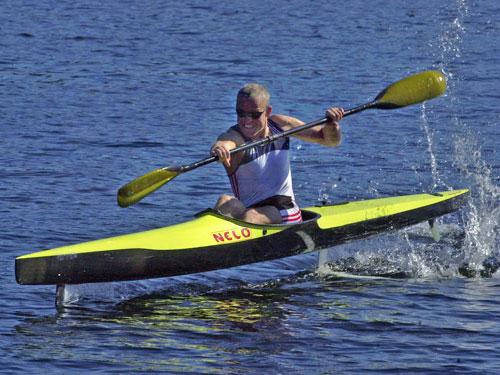 The Flyak A Flying Kayak