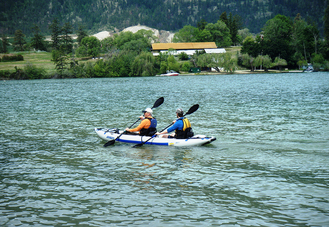 Sea Eagle FastTrack tandem kayak