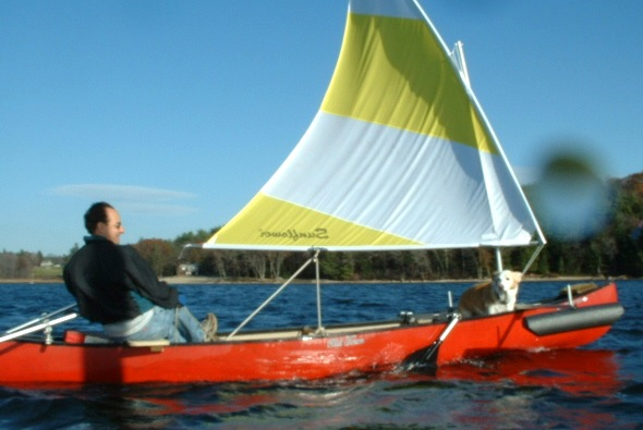 Advantages of Kayaking with a Sail