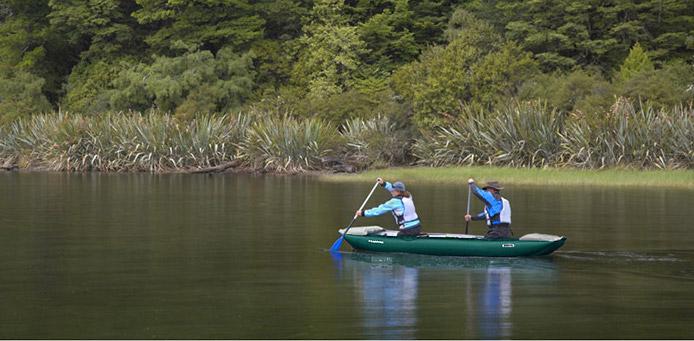 Innova Vagabond inflatable canoe