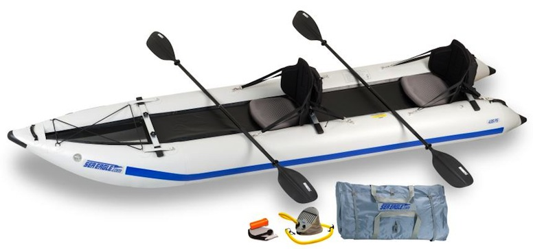 Sea Eagle 435 PaddleSki inflatable kayak