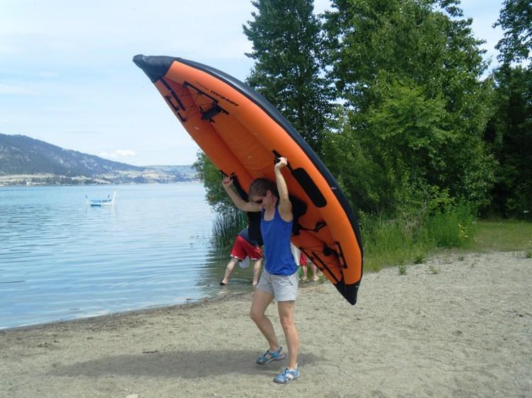 Airhead Montana solo inflatable kayak