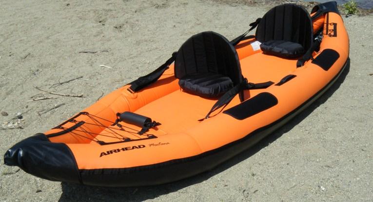 Airhead tandem kayak