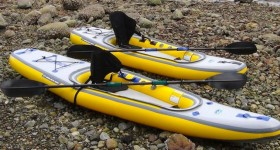Newly Designed Airis Inflatable Kayaks by Walker Bay