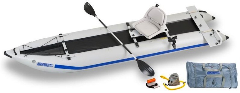 435 paddleski fishing package