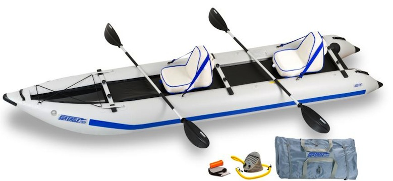 Sea Eagle Paddleski deluxe package