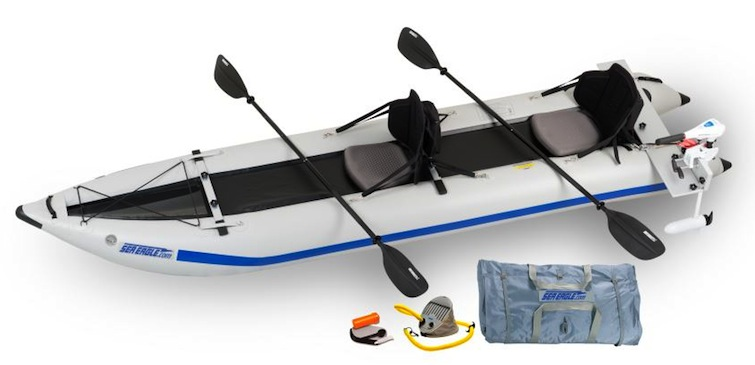 Paddleski kayak motor package