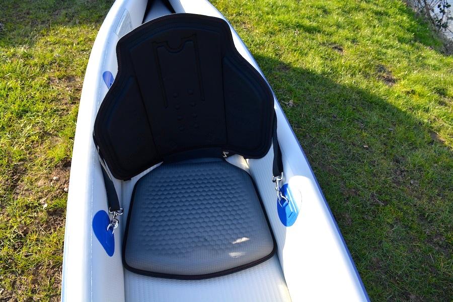 padded kayak seat