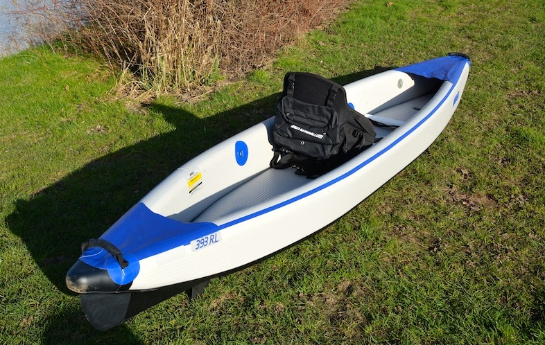 top view of Sea Eagle Razorlite kayak