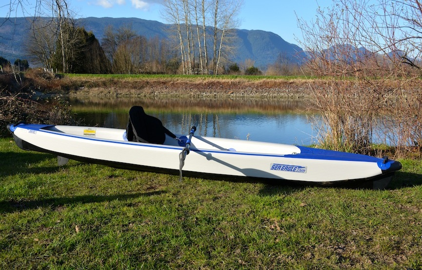 side view of SE 393rl kayak