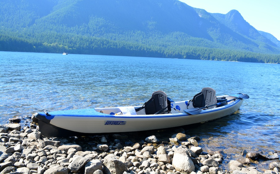 Sea Eagle tandem 473 RazorLite inflatable kayak