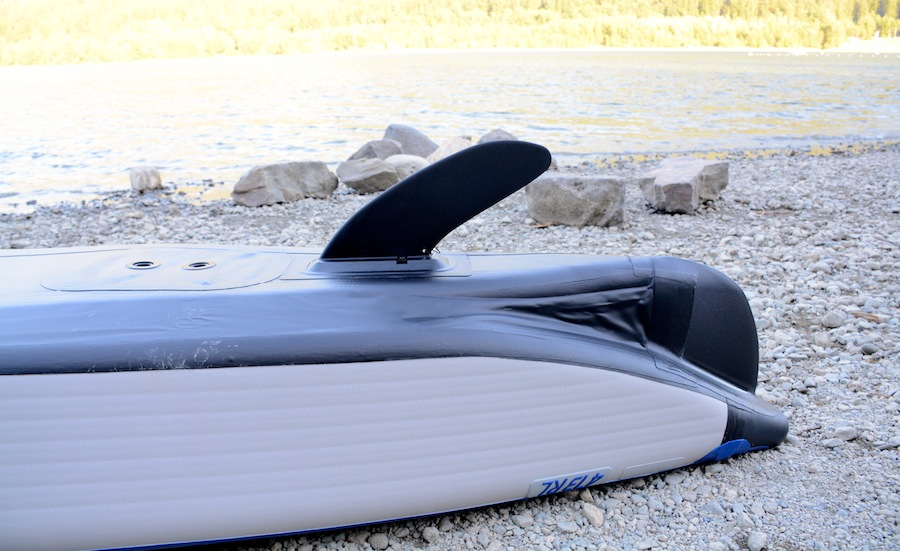 RazorLite kayak tracking fin