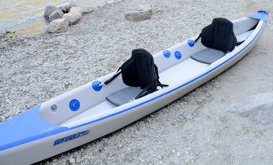 Sea Eagle 473 RazorLite tandem high pressure inflatable kayak