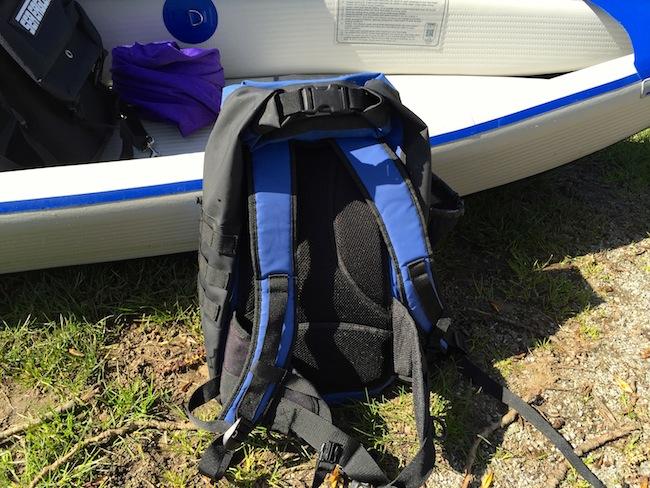 drycase waterproof backpack padded shoulder straps