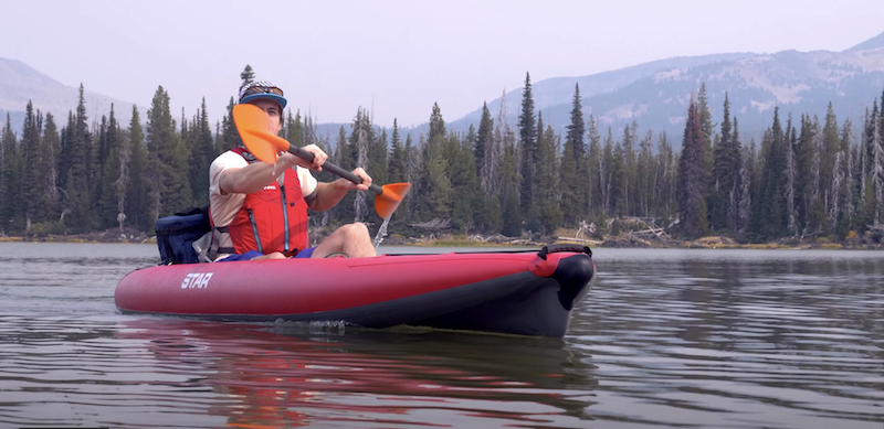 Star Paragon II Inflatable Kayak-Lime